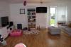 Neubau Doppelhaushälfte mit moderner Ausstattung in dörflicher Wohnlage - Wohnzimmer