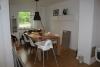 Neubau Doppelhaushälfte mit moderner Ausstattung in dörflicher Wohnlage - Essbereich im Wohnzimmer