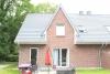 Doppelhaushälfte mit moderner Ausstattung in dörflicher Wohnlage - Gartenansicht