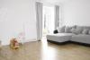 Doppelhaushälfte mit moderner Ausstattung in dörflicher Wohnlage - Wohnbereich