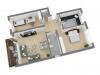 Sofort verfügbar! Hochwertige 3-Zimmer-Wohnung in Hamburg-Meiendorf - Grundriss