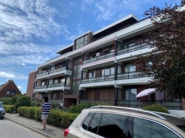 Möblierte 2 Zimmerwohnung in zentraler Lage mit Stellplatz, 25761 Büsum, Etagenwohnung